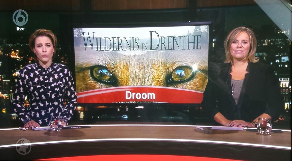 SBS6 Hart van Nederland was bij Henk en Janetta op bezoek om verslag te doen van de première.
