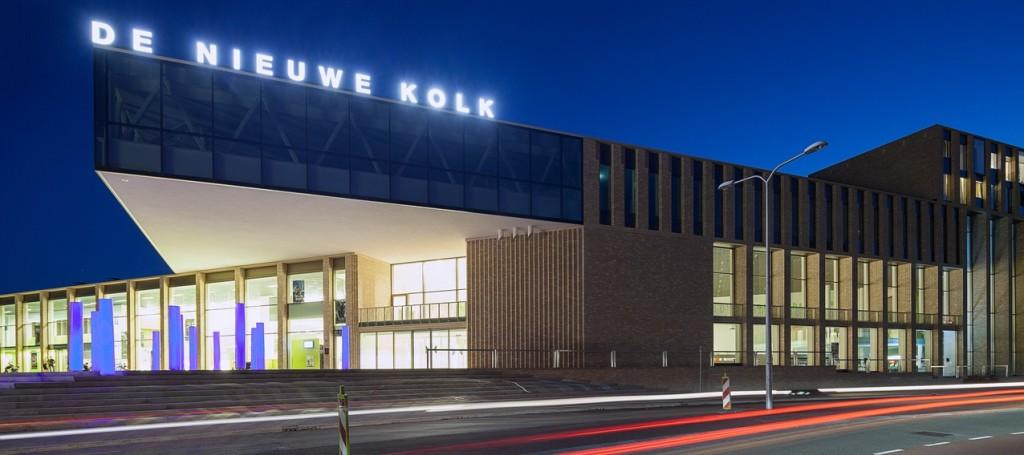 De Nieuwe Kolk in Assen: prachtige locatie voor de première en de filmvoorstellingen.