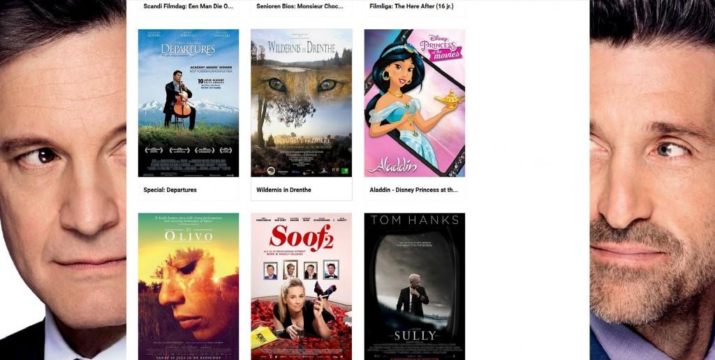 En daar staat WILDERNIS IN DRENTHE...fier tussen andere grote films...