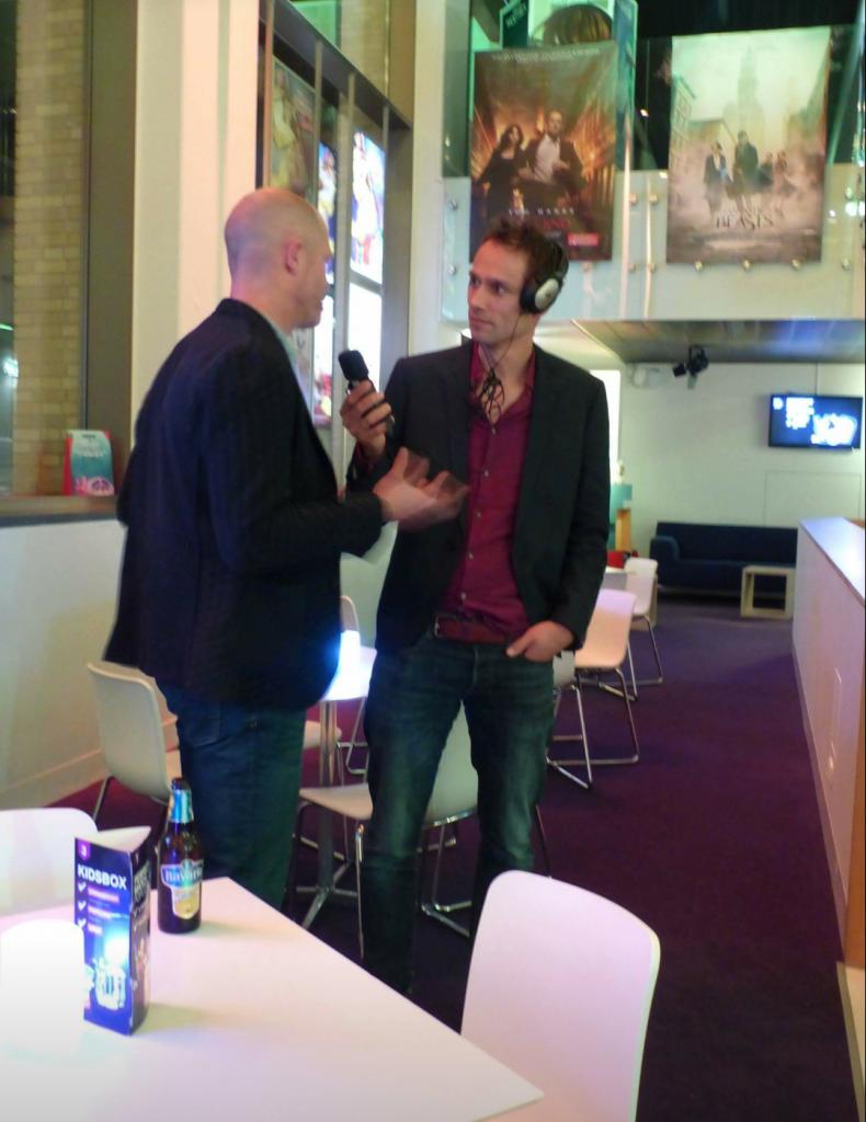 Ook RTV-Drenthe was van de partij..