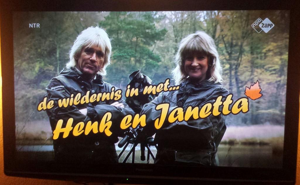 De Wildernis in met Henk en Janetta is de naam van het kleine vaste onderdeel waarin telkens beelden van de natuurfilmers te zien zijn...